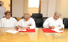 Signing an agreement between the Authority and Oman Post