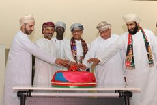 Diam celebrates Oman's 49th national day